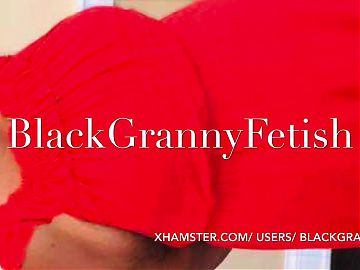 Very Old white granny Upskirt